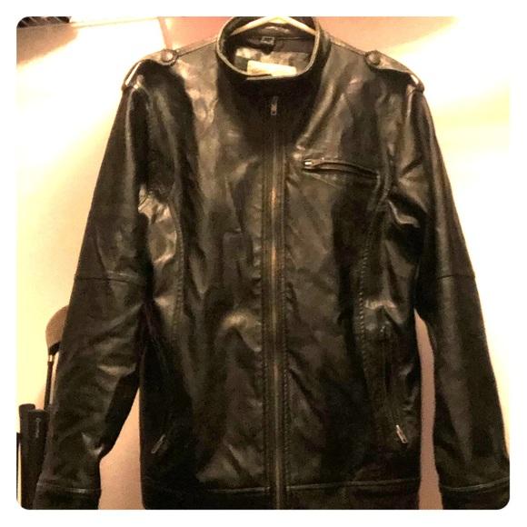 Diesel XL leather jacket